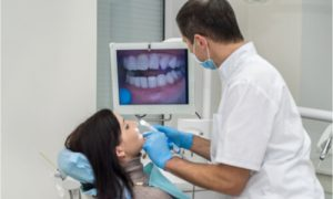 patient-dentist active discussion using intra oral camera